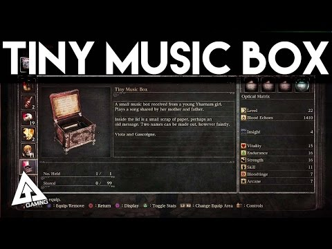Bloodborne - How to find the Tiny Music Box (PS4)