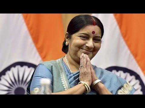 Sushma Swaraj saves a man kidnapped in Serbia