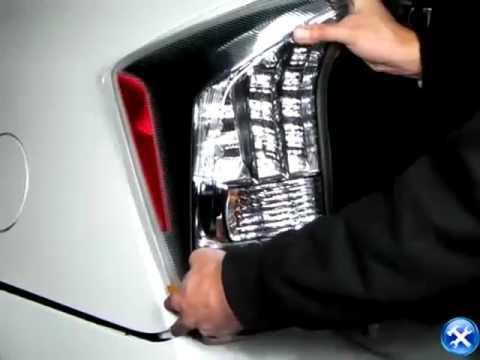 Dodge Trailer Hitch Amana Fridge Wiring Diagram 2010-2012 Toyota Prius Rear Tail Light Installation - Youtube