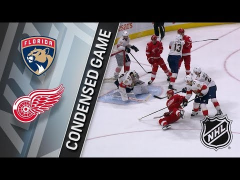 Florida Panthers vs Detroit Red Wings – Dec. 11, 2017 | Game Highlights | NHL 2017/18. Обзор матча