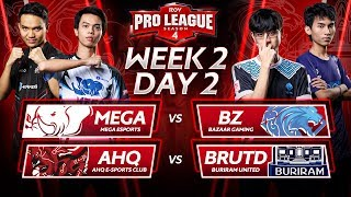 Rov Pro League Season 4  Week 2 Day 2