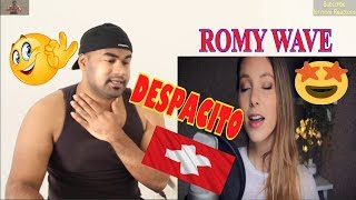 Despacito-Luis Fonsi ft Justin Bieber |Romy Wave cover|Swiss Version|Indian Reaction|AaluFries