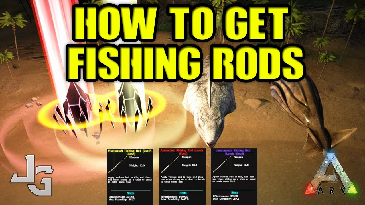 Ark howwhere to find quality fishing rods guide youtube ark howwhere to find quality fishing rods guide malvernweather Choice Image