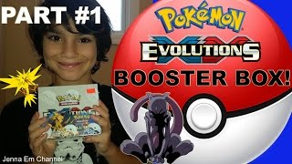 pokemon xy evolutions booster box part 1 of 2 jenna em