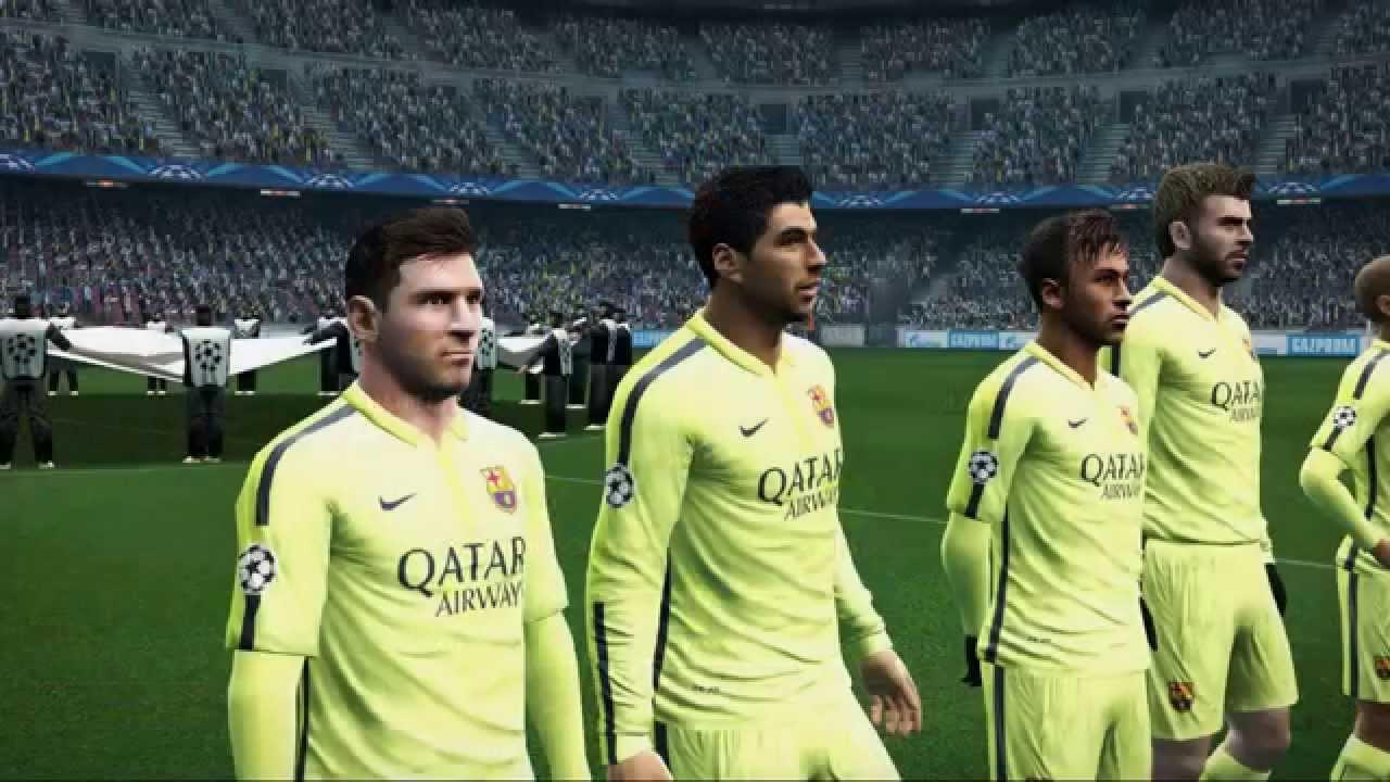7955409e641 PES 2013 - FC Barcelona Third Kit 14/15 - YouTube
