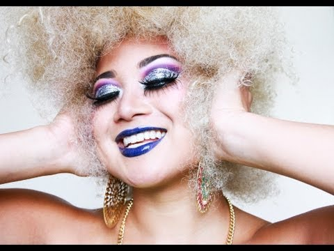 DISCO DIVA MAKEUP | MILA VICTORIA - YouTube