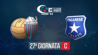 Catania - Paganese 2-1 Highlights HD