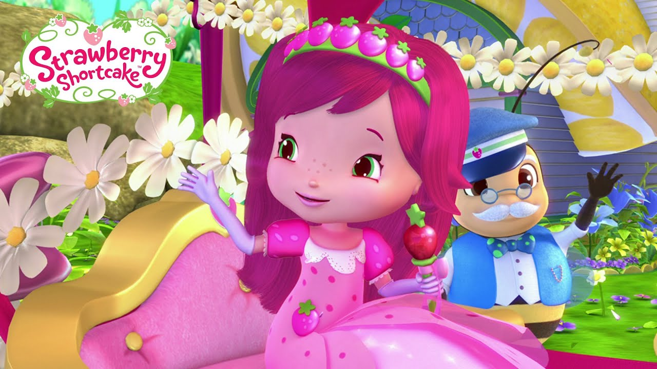 Strawberry Shortcake Girl Wallpaper Strawberry Shortcake Strawberry S Berry Big Parade Youtube