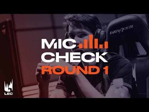 LEC Mic Check: Playoffs Round 1 (Summer 2019)