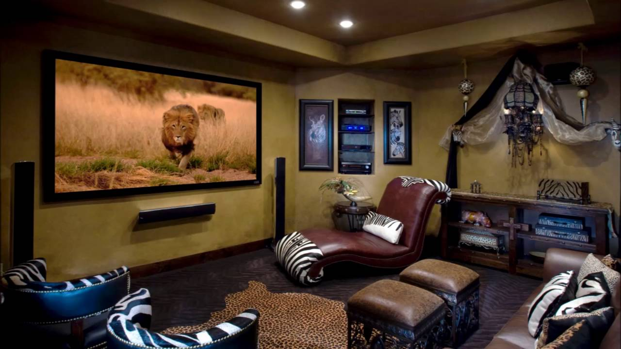 Simple Home Theater. Simple Home Theatre Setup Theater Youtube