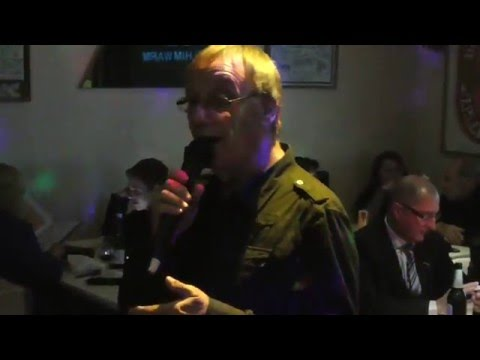 Tony Morris   Back Home Again - live @ The Little Waster Karaoke