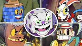 Cuphead - All Casino Bosses + King Dice