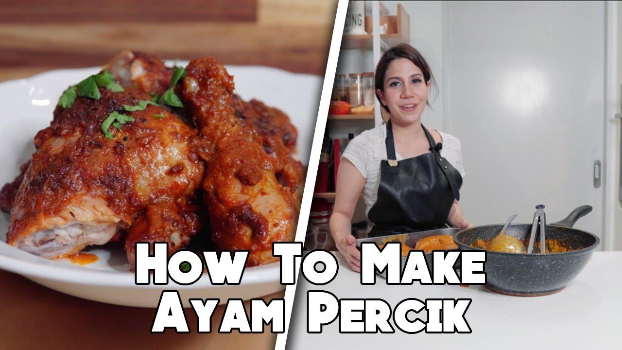 How To Make Ayam Percik Youtube