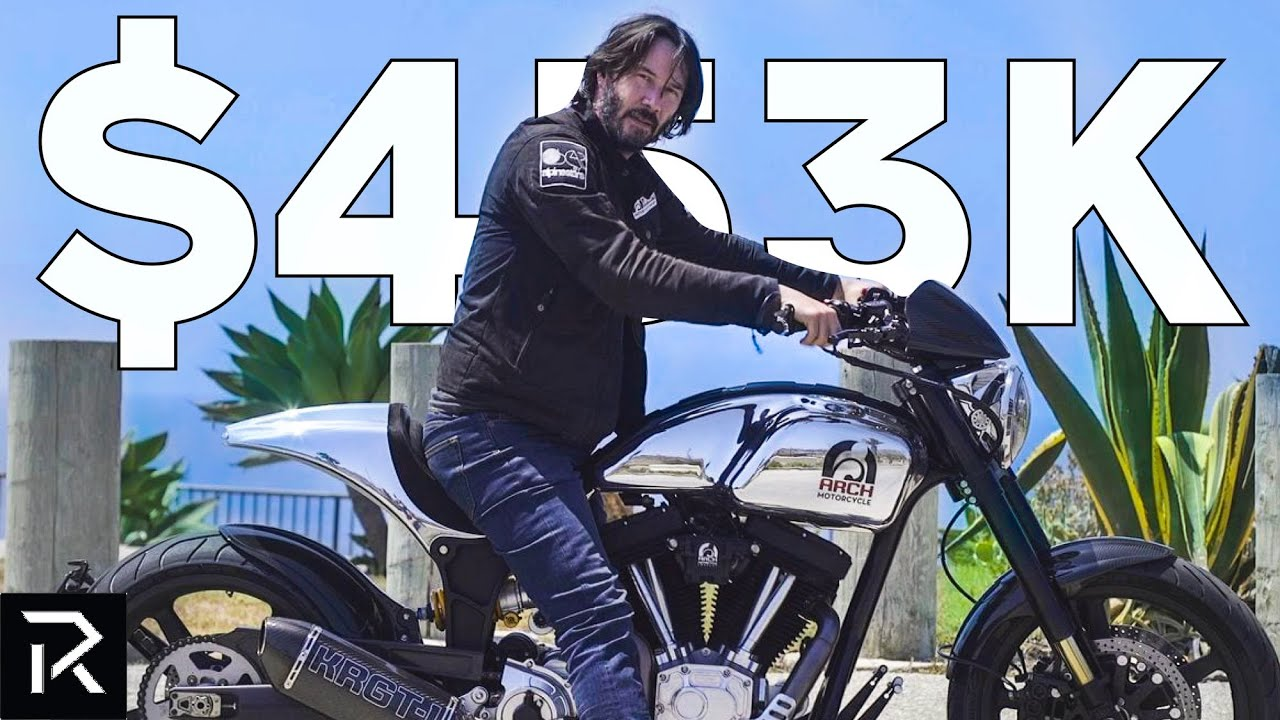 Inside Keanu Reeves' Impressive Motorcycle Collection