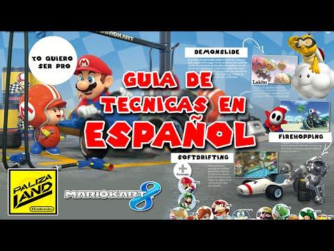 Tutorial: Guia Tecnicas Avanzadas Mario Kart 8 en español (Fire Hopping - Demon Slide)