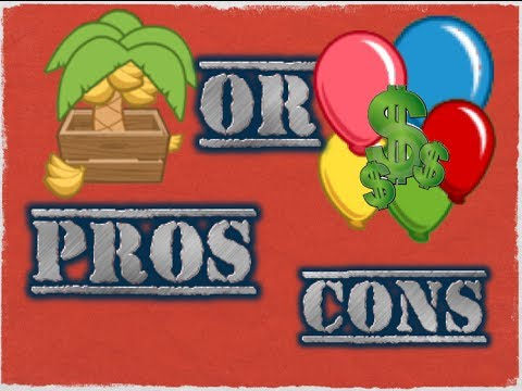 Banana Farm or Bloon Economy-Pros and Cons-BTD Battles