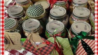 Gifts In A Jar and My Gift To You~  Noreen