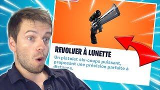 [🔴LIVE FORTNITE] NEW SKIN TROP FRAIS - 'REVOLVER A LUNETTE' TROP PUISSANT DISPO!
