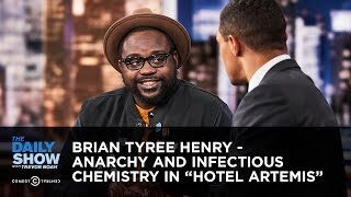 "Brian Tyree Henry - Anarchy and Infectious Chemistry in ""Hotel Artemis"" 