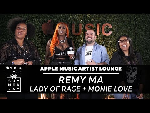Remy Ma Speaks Moments After Summer Jam Performance at Apple Music Artist Lounge