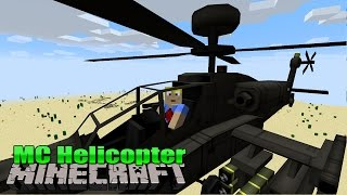 Flugzeuge & Helicopter | MC Helicopter - Minecraft Mod Review