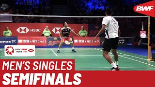 SF | MS | Kento MOMOTA (JPN) [1] vs. Tommy SUGIARTO (INA) | BWF 2019