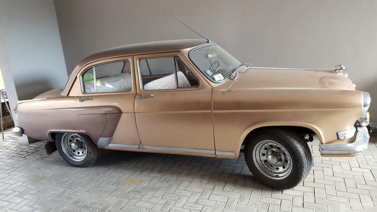 Restored GAZ Volga M21 - YouTube