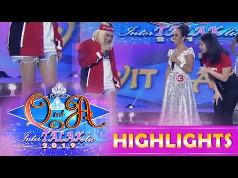 It's Showtime Miss Q & A: Anne notices Vice Ganda's shorts