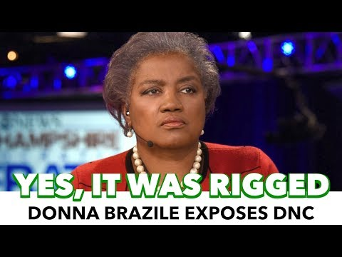 Donna Brazile Admits The Democratic Primary Was Rigged