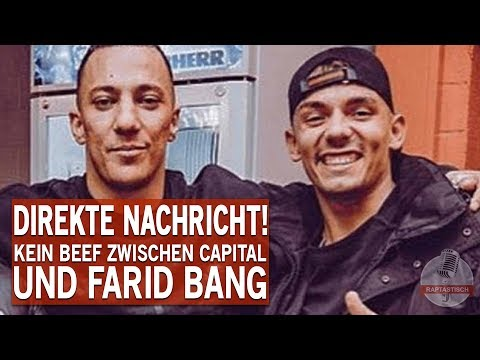 Capital Bra schickt direkte Nachricht an Farid Bang!