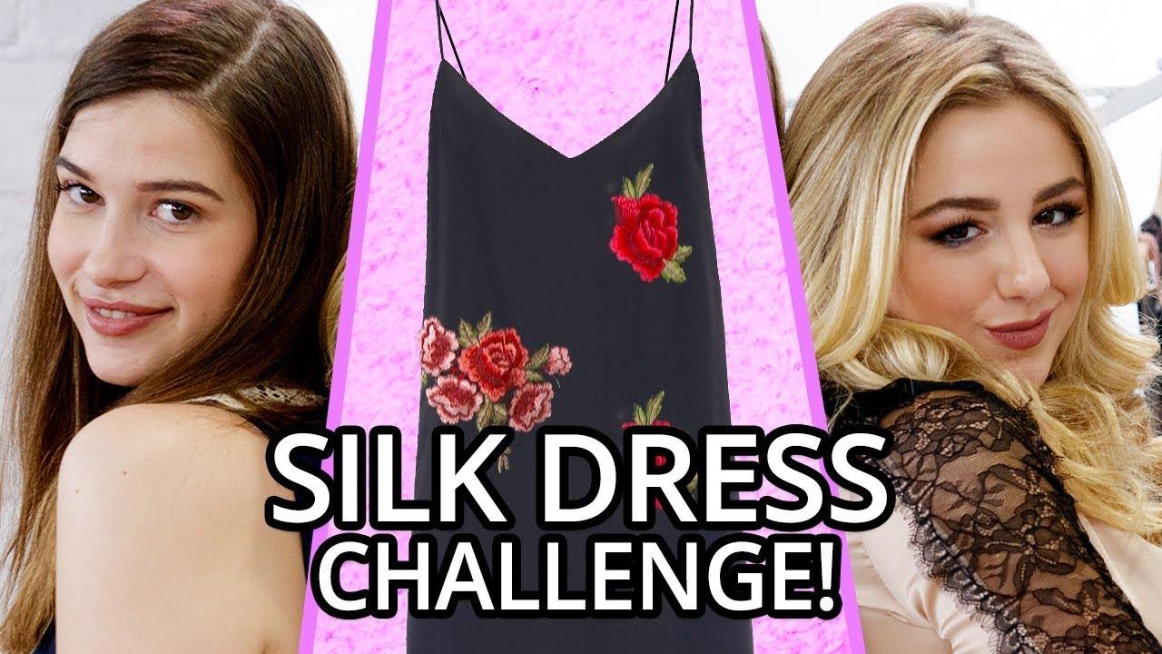 Download Silk Dress OUTFIT CHALLENGE?! w/ CHLOE LUKASIAK