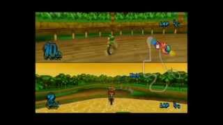 Mario Kart Wii - Playing Cooperatively on all 32 courses - Team Play with Medium Difficulty on 150cc - User video