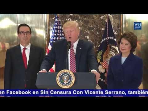 """""""En ningún momento Trump le dio apoyo al Ku Klux Klan"""": Robert Enríquez (R)"""