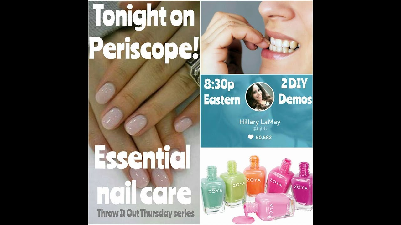 Throw It Out Thursday: essential nail care! - YouTube