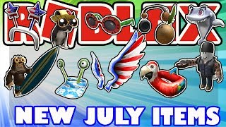 [NEW ITEMS] New Limited Old Glory Wings and July 2018 Robux Card Items - Roblox Catalog