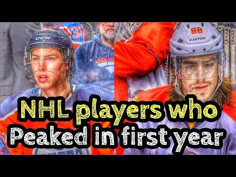 NHL Players Who PEAKED In Rookie Season