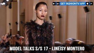Models Fall/Winter 2017-18 Lineisy Montero | FashionTV