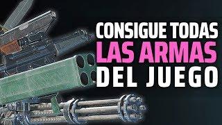 RESIDENT EVIL 2 REMAKE | Como conseguir TODAS LAS ARMAS DEL JUEGO, SUS MEJORAS Y MUNICIÓN INFINITA