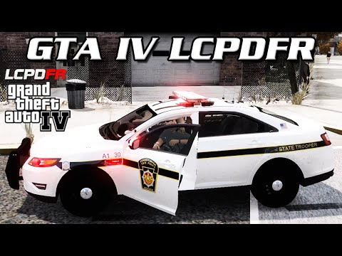 GTA IV LCPDFR MP - Pennsylvania State Police