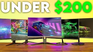 Budget 144hz Gaming Monitors Under $200