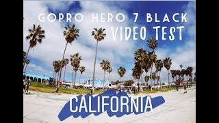 Gopro Hero 7 Black Video Test - California