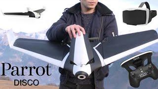 Parrot Disco FPV Drone - IMPRESSIONS !
