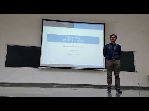Why to study science?|Mathematics Careers|A life in Mathematics,IISER Bhopal