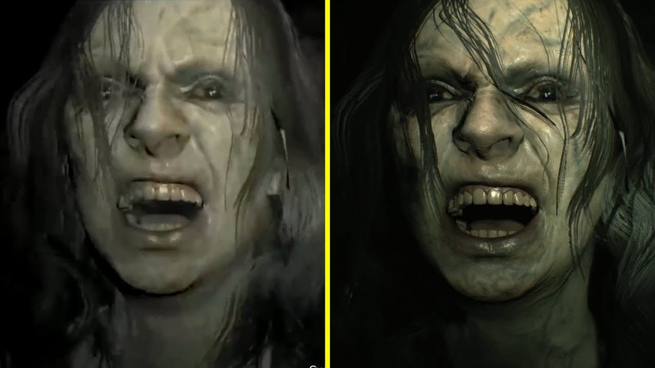Resident Evil 7 Nintendo Switch Vs Xbox One X Graphics Comparison Youtube
