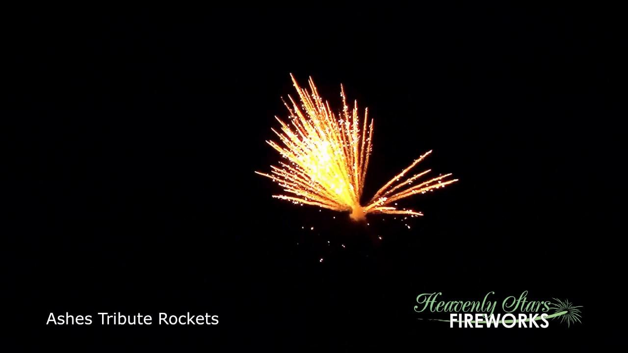 Self-Fire Tribute Fireworks - Heavenly Stars Fireworks