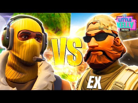 LITTLE KELLY'S EX BOYFRIEND VS RAPTOR - Fortnite Short Film