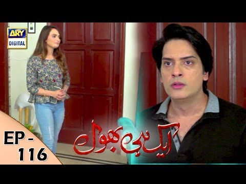 Ek Hi Bhool - Episode 116 - 7th December  2017 - ARY Digital Drama