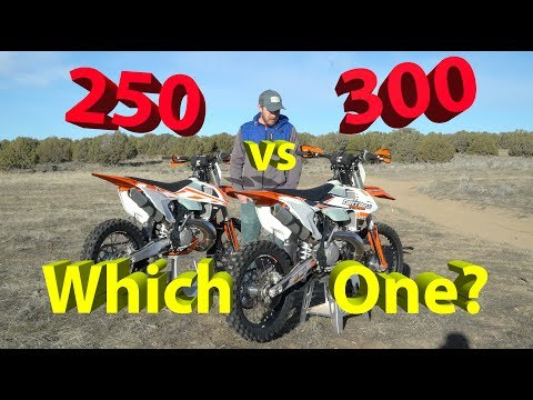250 vs 300 2 Stroke Dirt Bike | Which One Should YOU Get??