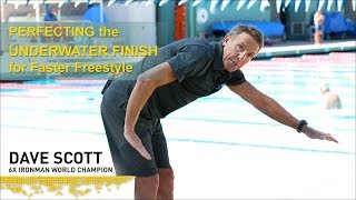 Perfecting the UNDERWATER FINISH for faster freestyle