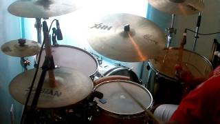 Xavier Davis, John Benitez, Jeff 'tain' Watts, Jimmy Greene - Old Rugged Cross (drum Cover)